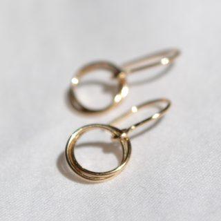 gold serenade earrings