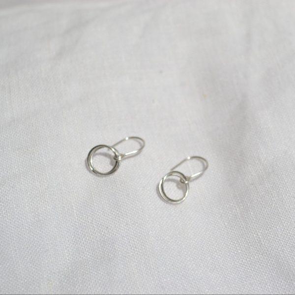silver serenade earrings