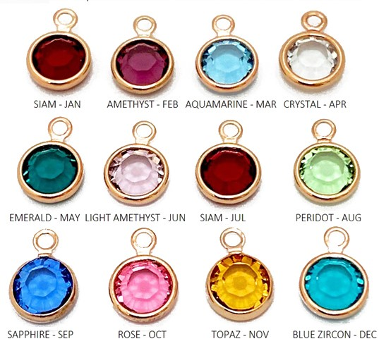 Gem colour options