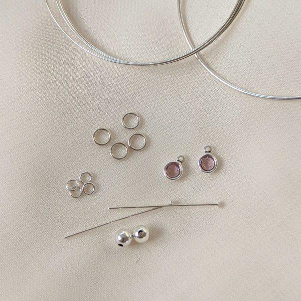 Jewellery making kit earrings