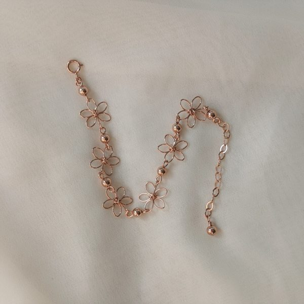 carnation bracelet rose