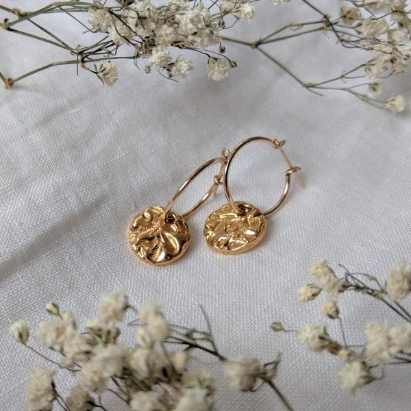 Tide Pool Hoop earrings