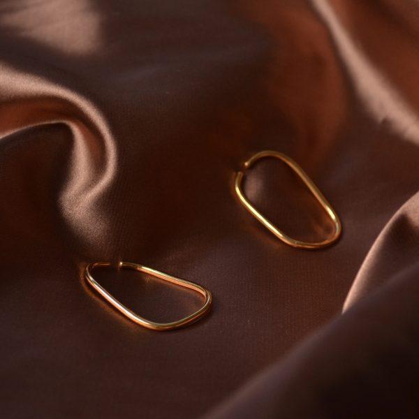 gold eternal ear cuffs