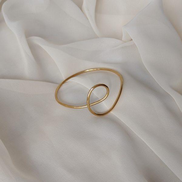 gold dynasty bangle bracelet